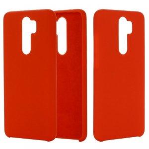 Etui XIAOMI MI 9 LITE Silicone case elastyczne silikonowe czerwone