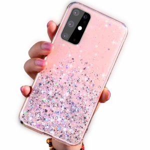 Etui IPHONE 11 Brokat Cekiny Glue Glitter Case różowe