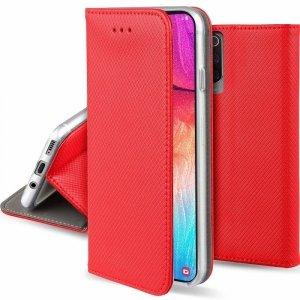 Etui MOTOROLA MOTO G8 POWER portfel z klapką Flip Magnet czerwone