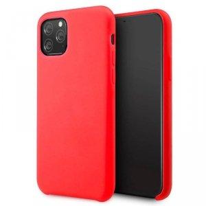 Etui MOTOROLA MOTO G10 / G30 Silicone case elastyczne silikonowe czerwone