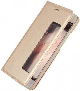 Etui futerał s-view cover - Huawei P10 (gold)