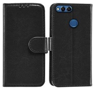Etui Futerał Wallet Case Huawei Honor 7X (czarny)