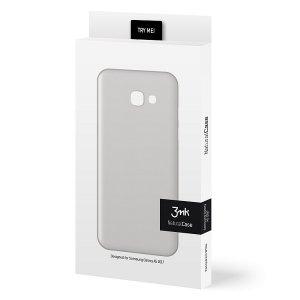3MK Etui NC Sam A520 A5 2017 biały white, Natural Case