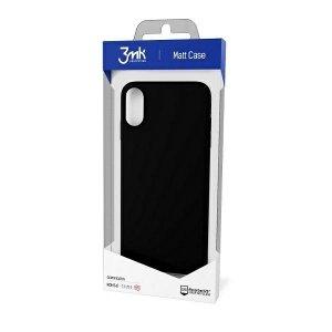 3MK Matt Case OnePlus 9 czarny/black