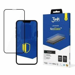 3MK NeoGlass iPhone 13 Mini czarny /black