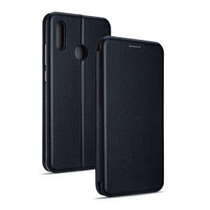 Beline Etui Book Magnetic HUA P Smart 2019 czarny/black
