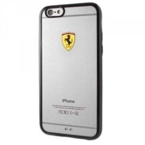 Ferrari Hardcase FEHCP6LBK iPhone 6/6S Plus racing shield transparent black