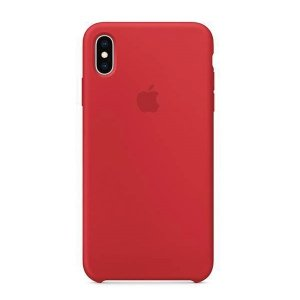 Etui Apple MRWH2ZM/A iPhone Xs Max red Silicone Case
