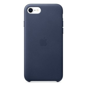 Etui Apple MXYN2ZM/A iPhone SE 2020 granatowy/midnight blue Leather Case