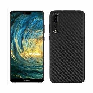 Etui Carbon Fiber Huawei P20 PRO czarny /black