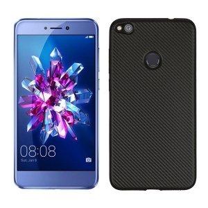 Etui Carbon Fiber Huawei P8 lite 2017 czarny/black