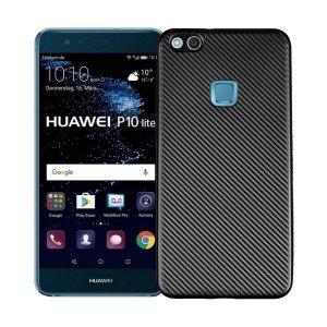 Etui Carbon Fiber Huawei P10 lite czarny /black