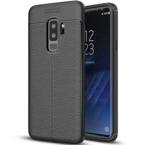 Etui Grain Leather Samsung S8 G950 czarn y/black