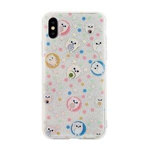 Etui Pattern iPhone 5/5S/SE wzór 6 (owls white)