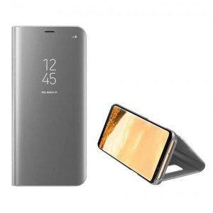 Etui Clear View Samsung A32 4G srebrny/silver