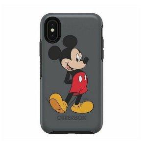 Etui Otterbox Symmetry Mickey Classic iPhone X/Xs  szary/grey 36237