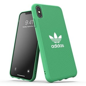 Adidas OR Moulded Case Canvas iPhone Xs Max zielony/green 33328