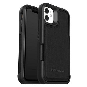 LifeProof Wallet iPhone 11 czarny/black 37711