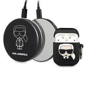 Karl Lagerfeld KLBPPBOA2K AirPods case + Power Bank Ikonik