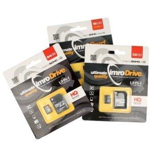 Karta pamięci microSD 64GB Imro+ adp 10C