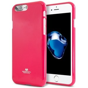 Mercury Jelly Case Huawei Mate 8 różowy /hot pink