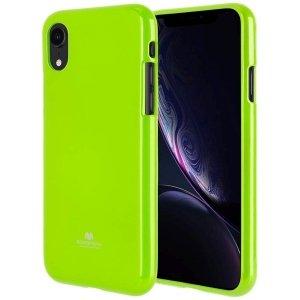 Mercury Jelly Case HTC U11 limonkowy /lime