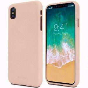 Mercury Soft Huawei Mate 10 Lite różowo- piaskowy /pink sand Nova 2I