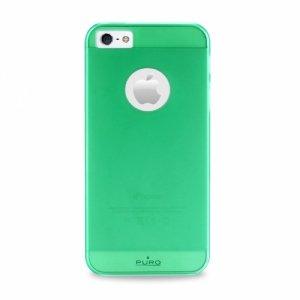 Puro Rainbow Cover iPhone 5/5S zielony IPC5RBGRN