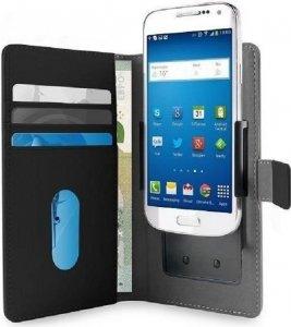 PURO Smart Wallet XL etui uniwersalne czarne/black 5.1 z uchwytem foto oraz kieszeniami na karty i pieniądze UNIWALLET3BLK