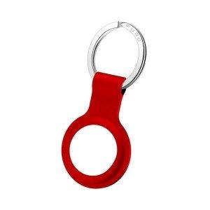 Puro ICON Case AirTag silicone czerwony/red ATICON1RED brelok
