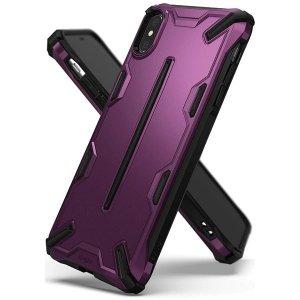 Ringke Dual X iPhone X/Xs purpurowy /metalic purple DXAP0006