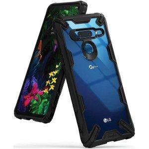 Ringke Fusion X LG G8 ThinQ czarny /black FXLG0006