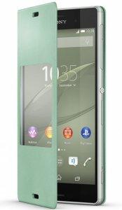 Etui Sony SCR24 zielony Xperia Z3