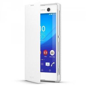 Etui Sony SCR48 biały Xperia M5