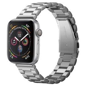 Spigen Modern Fit Band Apple Watch 1/2/3 /4/5/6/SE 42/44mm srebrny/silver 062MP25404
