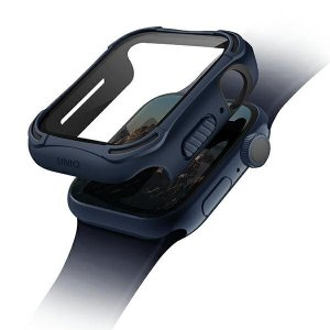UNIQ etui Torres Apple Watch Series 4/5/6/SE 44mm. niebieski/nautical blue