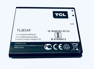 Nowa oryginalna bateria Alcatel / TCL TLiB5AF MW40 MW40V ORANGE AIRBOX ONE TOUCH OT-5035 POP C5 1800mAh