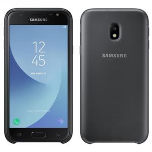 Etui Samsung Dual Layer Cover do telefonu J3 2017 czarny EF-PJ330CBE