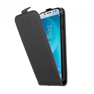 ETUI FLIP CASE DO SAMSUNG GALAXY J7 2017 - black