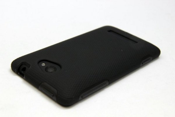 CASE-MATE HYBRID TOUGH WZMACNIANE ETUI FUTERAŁ HTC 8S CM024866 (Czarne)