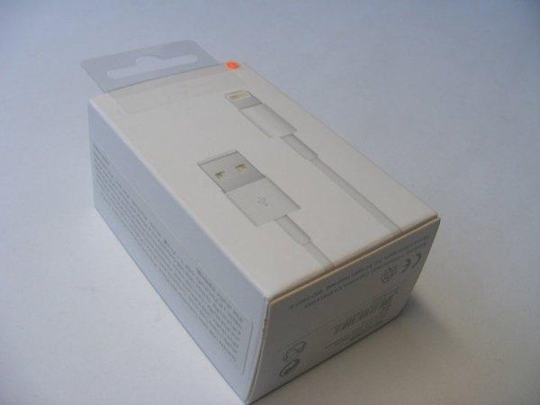 Apple MB707ZM/B nowy oryginalny zestaw ŁADOWARKA MD813 + KABEL LIGHTNING MD818 1m. - iPhone 5 5S 6 6S 7 7+
