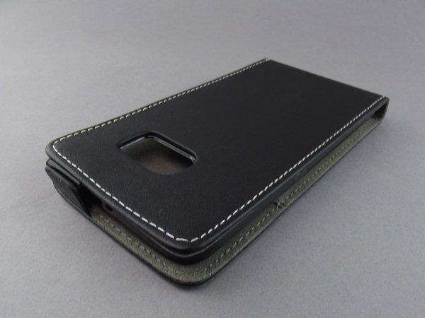 ETUI KABURA SLIM FLEXI SAMSUNG GALAXY S6 EDGE PLUS G928FZ (czarne)