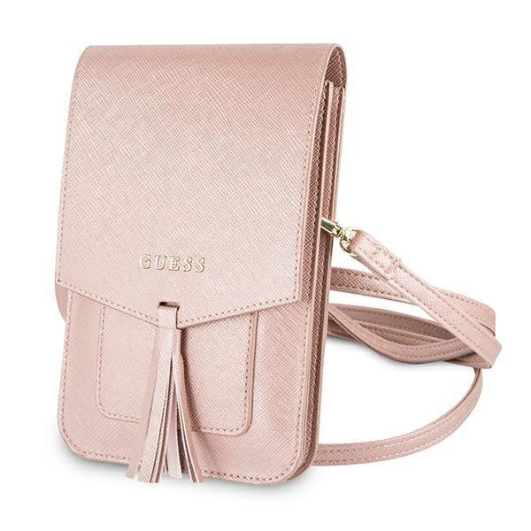 Guess Torebka GUWBSSAPI różowy/pink Saffiano