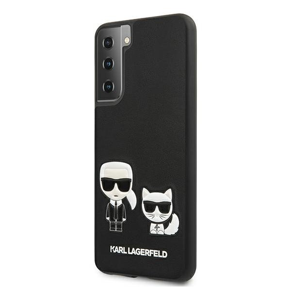 Etui Karl Lagerfeld KLHCS21MPCUSKCBK S21+ G996 czarny/black hardcase Ikonik Etui Karl & Choupette