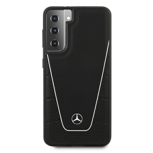 Etui Mercedes MEHCS21SCLSSI S21 G991 czarny/black hardcase Dynamic Line