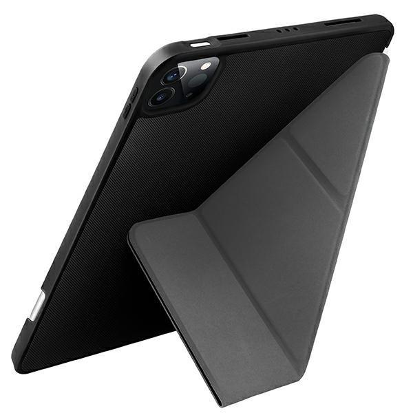 "UNIQ etui Transforma iPad Pro 11"" (2021) Antimicrobial czarny/ebony black"