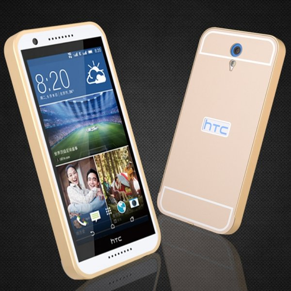 ALUMINIOWY BUMPER ETUI do HTC DESIRE 620 (4 kolory)