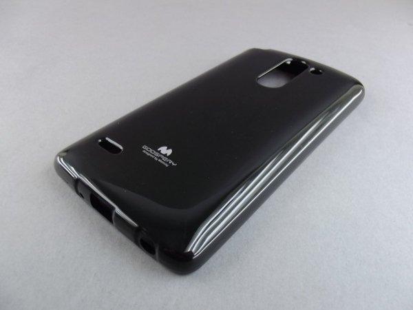 MERCURY JELLY CASE ETUI BACK COVER LG G3 STYLUS D690 (czarne)