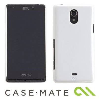 CASE-MATE BARELY THERE BLACK ETUI DO SONY XPERIA T - CM024780 (białe)