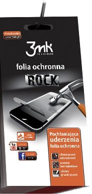 3mk Rock Pancerna Folia iPhone 4 4S przód tył